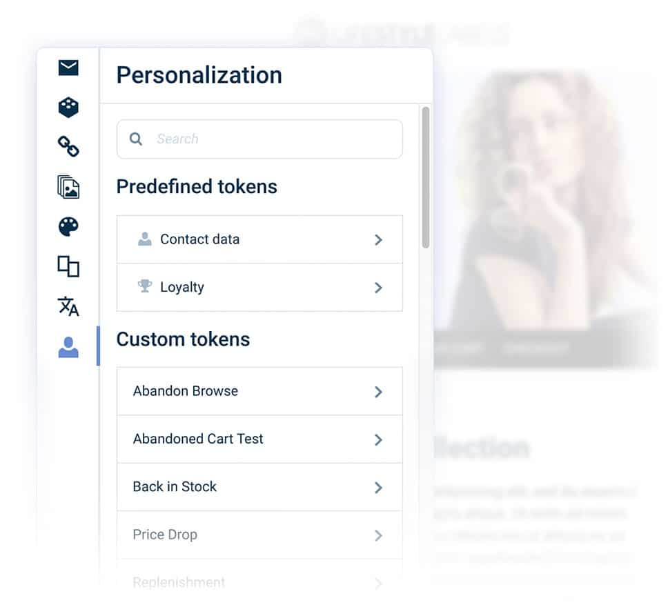 Personalization Reusable Personalization Tokens